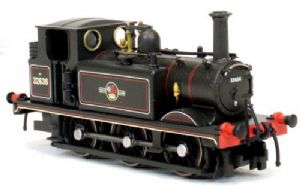 "Dapol 2S-012-010 BR ""Terrier"", No.32636, Lined Black Livery, Late Crest"